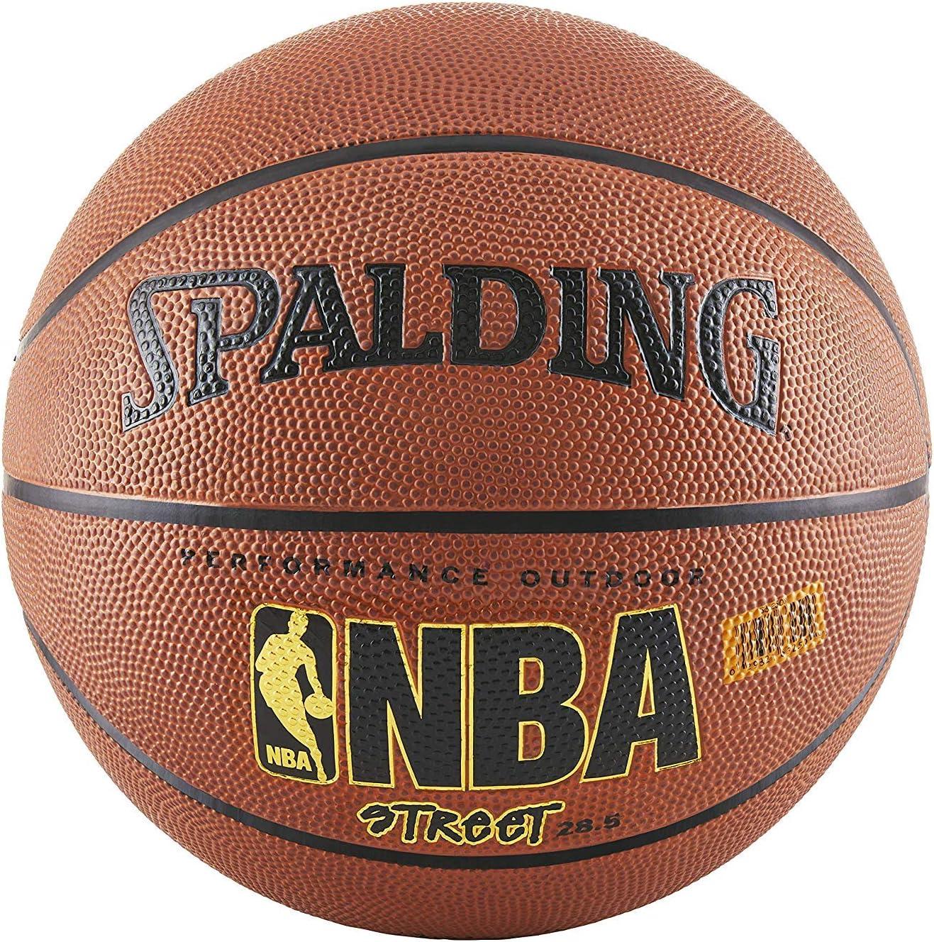 Spalding NBA Street Balón de Baloncesto – Tamaño Oficial 7 (29.5 ...