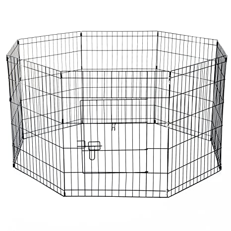 PawHut - Valla para perros, gatos, cachorros, roedores. Valla de red de