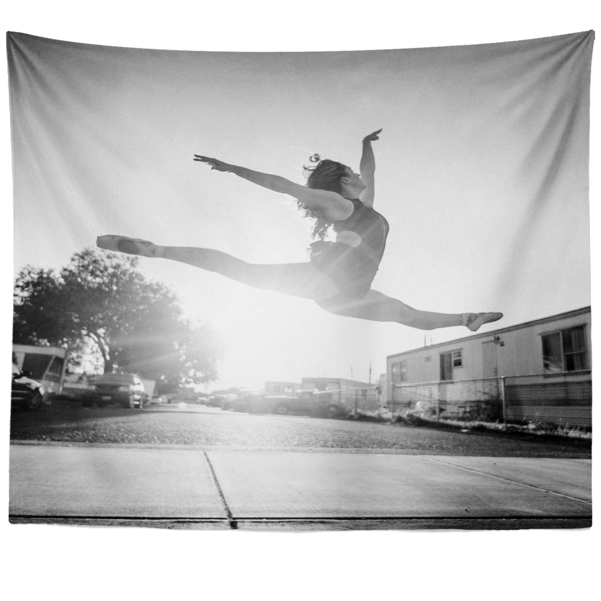 Westlake Art - Woman Dance - Wall Hanging Tapestry - Picture Photography Artwork Home Decor Living Room - 51x60 Inch
