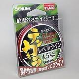 サンライン(SUNLINE) 驚きのしなやかさ!リピーター続出『ぶっとびテンカラレベルライン 30m』3~4.5号