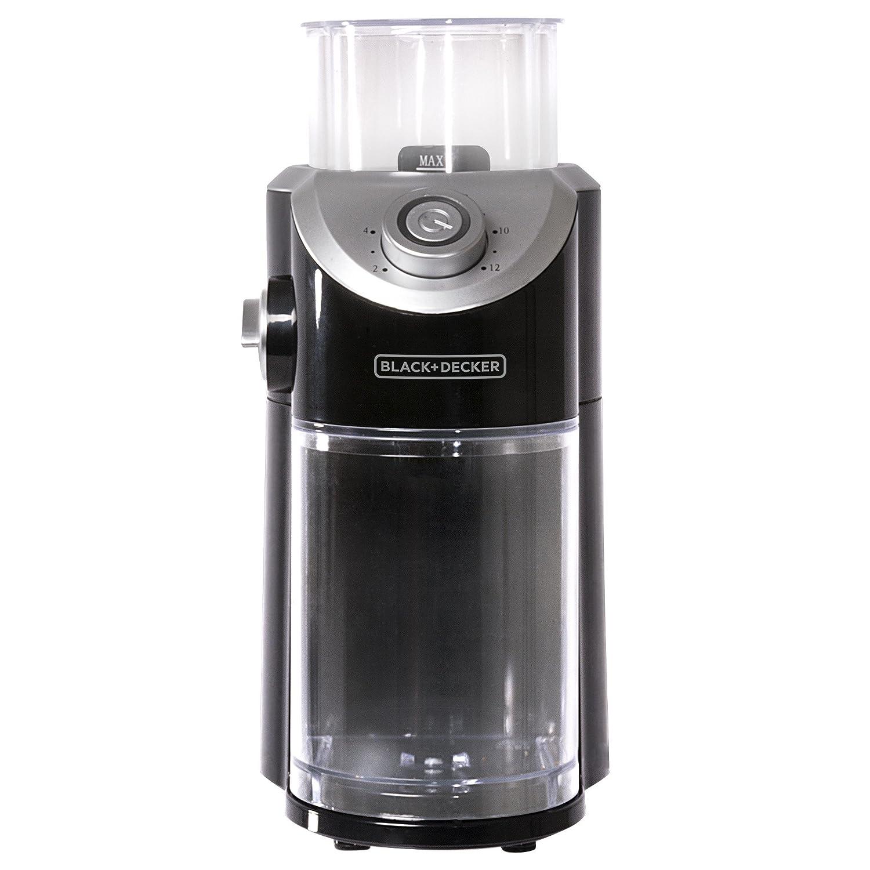 Black And Decker Coffee Grinder ~ Black decker cbm bd burr mill coffee grinder ebay