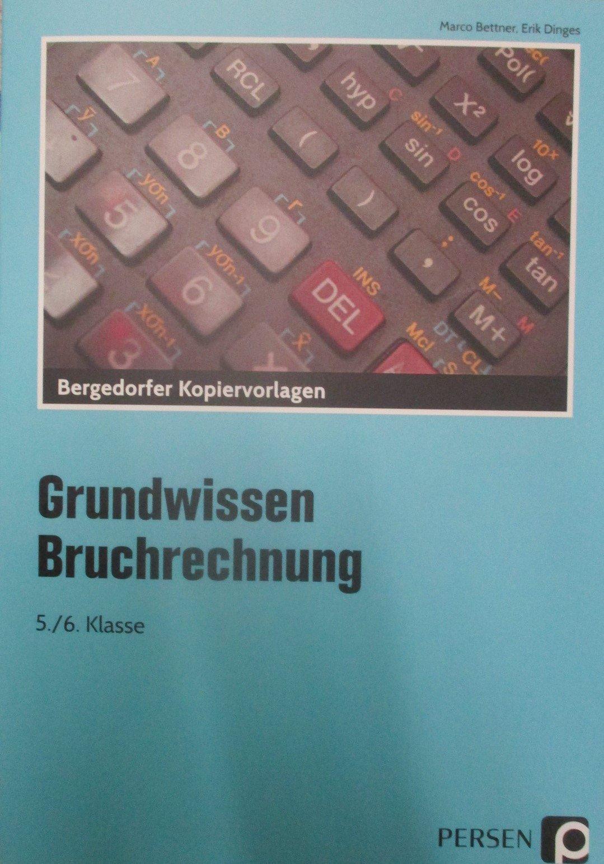 Bruchrechnung: 5. und 6. Klasse Grundwissen Mathematik: Amazon.de ...