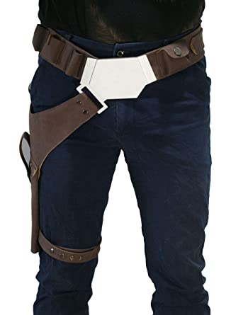 Amazon Com Mens Holster Han Belt Cosplay Porps For Halloween