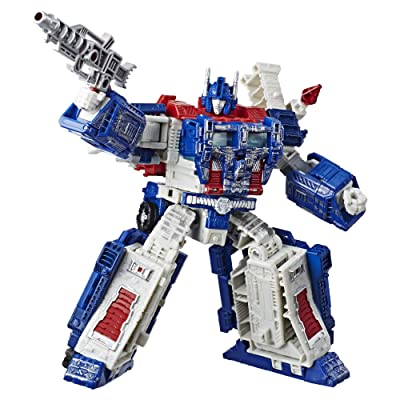 Transformers Generations War for Cybertron: Siege Leader Class WFC-S13 Ultra Magnus Action Figure: Toys & Games