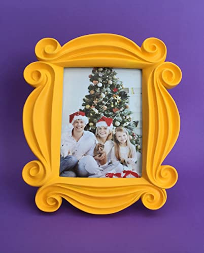 The FRIENDS Frame As 5x7 Inch Picture Frame: Handmade FRIENDS Peephole Frame  As Seen On