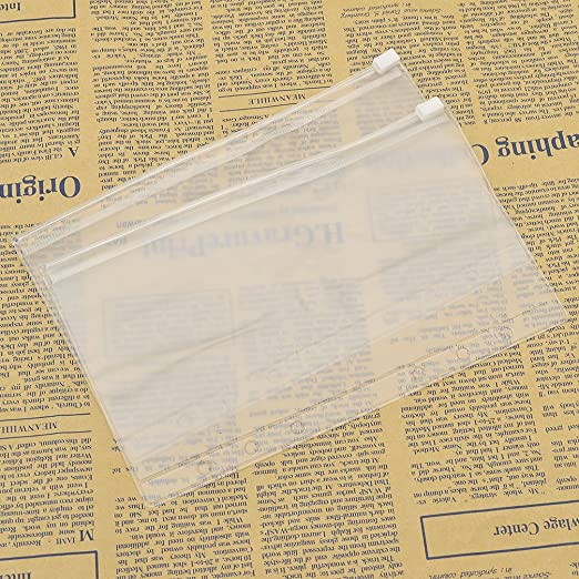Amazon.com: towashine 2pcs Transparente bolsillo de carpeta ...