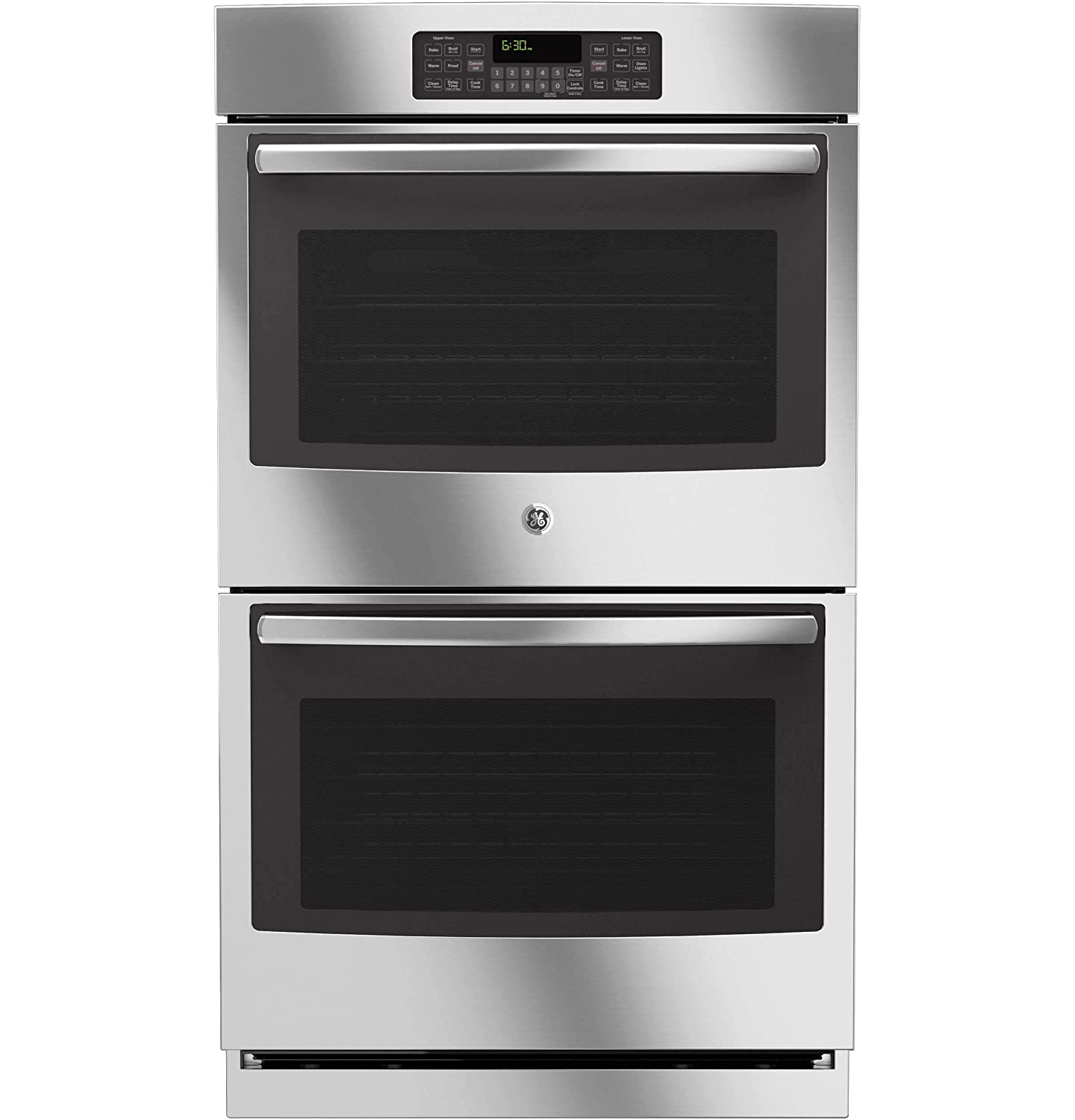 "GE JT3500SFSS 30"" Stainless Steel Electric Double Wall Oven (Certified Refurbished)"