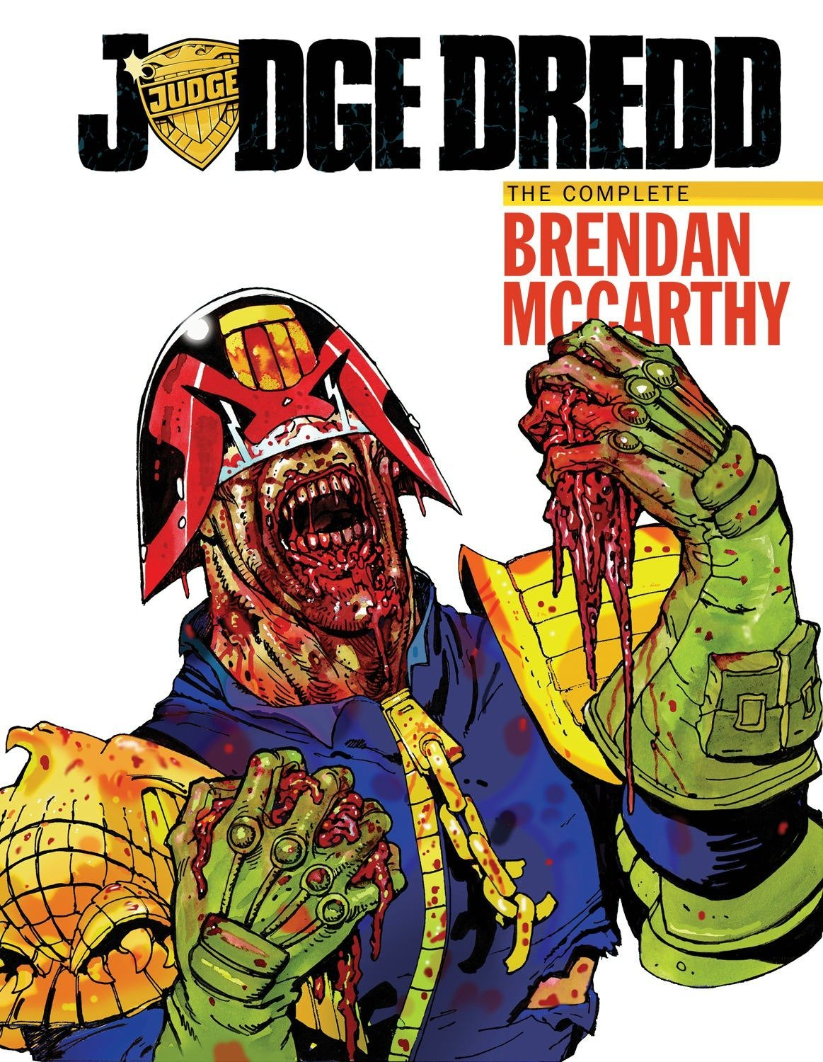 Judge Dredd: The Brendan McCarthy Collection by IDW Publishing