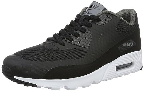 best loved 88318 8e136 Nike Air Max 90 Ultra Essential, Bassi Uomo, Nero Black-Dark Grey-White,  EU: Amazon.it: Scarpe e borse