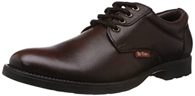 d2e49c11ad1 Lee Cooper Men s Brown Leather Shoes - 10 UK  Buy Online at Low ...