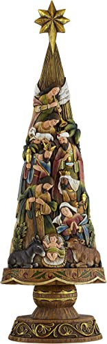 Avalon Gallery Nativity Figurine, Christmas Tree