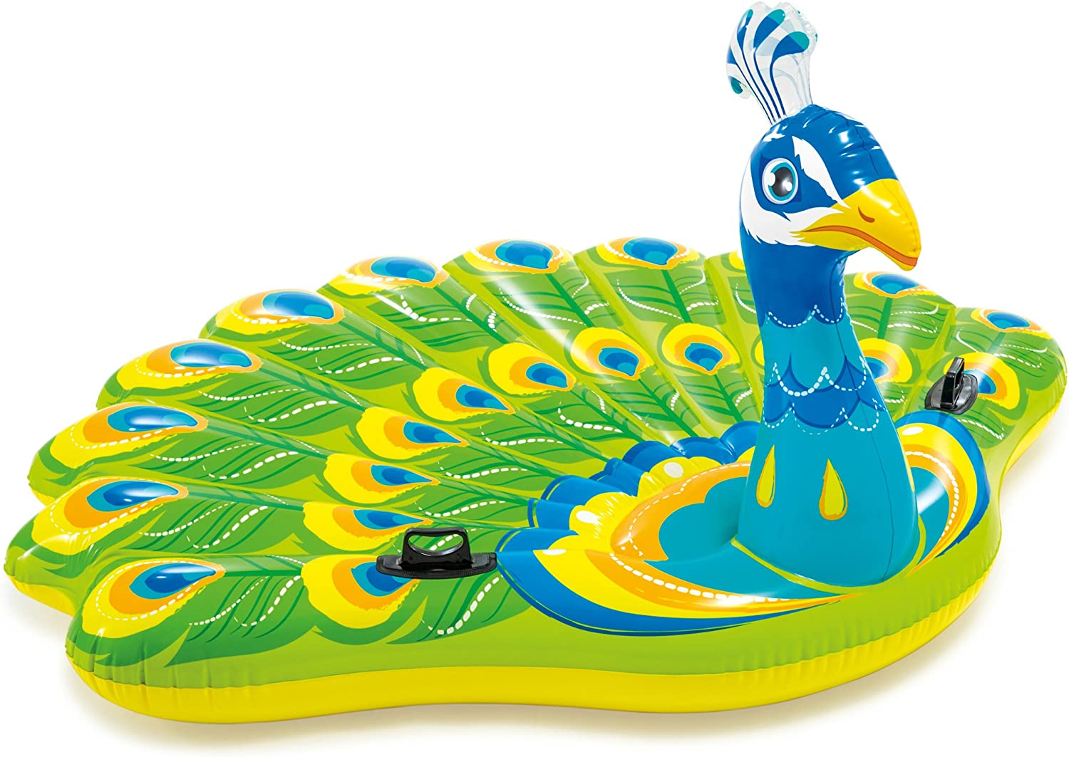 """Intex Peacock Inflatable Island, 76"""" X 64"""" X 37"""", for Ages 6+"""