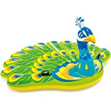 "Intex Peacock Inflatable Island, 76"" X 64"" X 37"", for Ages 6+"