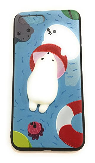0a2e3c7db5 Image Unavailable. Image not available for. Color: Cute Fashion Fresh Novel Squishy  Bear for iPhone 6 Case ...