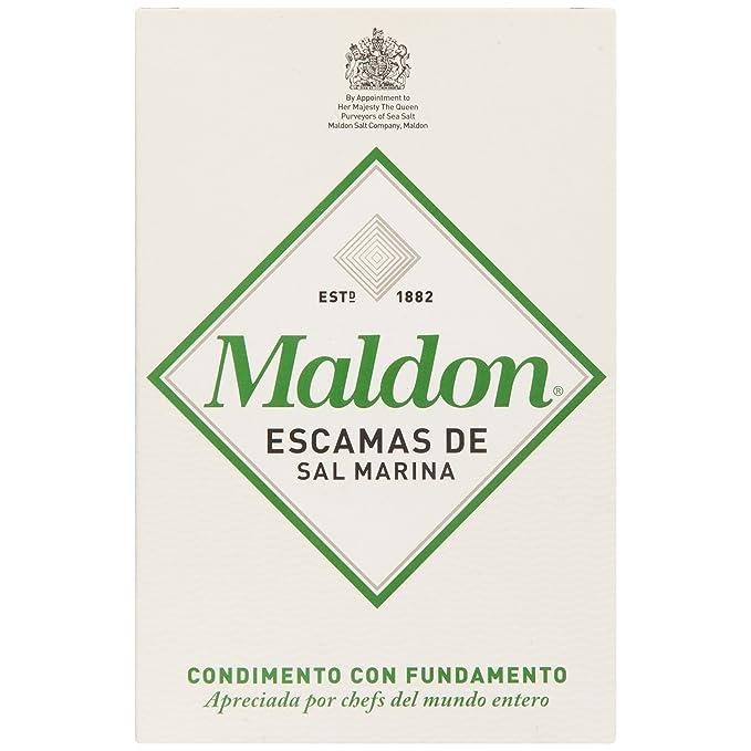 Maldon Escamas De Sal Marina - 250 g: Amazon.es: Amazon Pantry