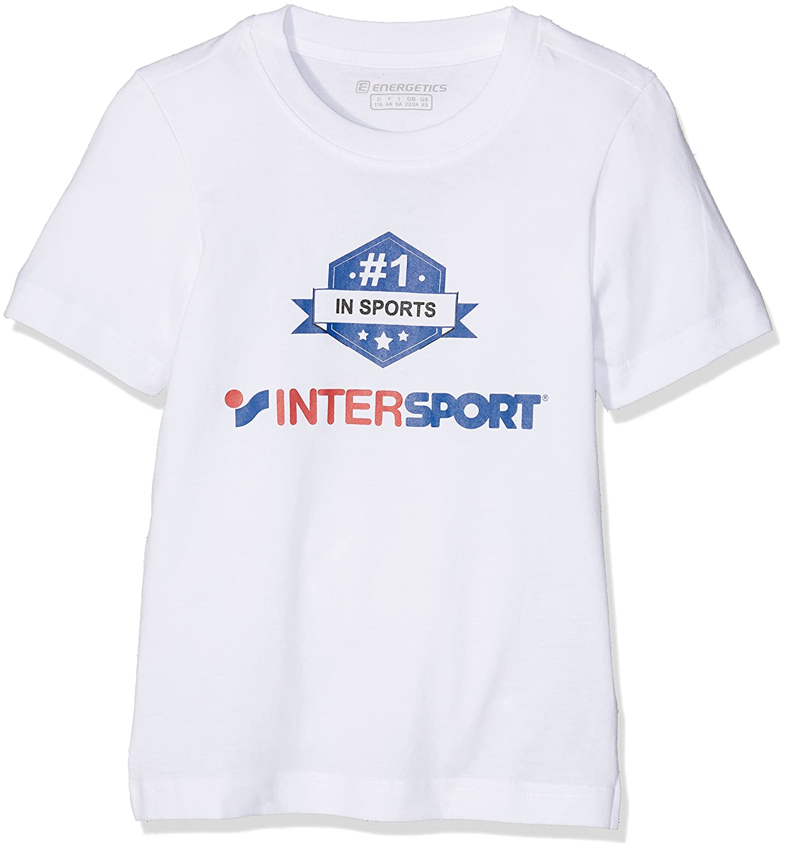 Pro Touch Akim Promo Juvenil Camiseta de Niños, otoño/Invierno, Infantil, Color Blanco, tamaño 176 244733