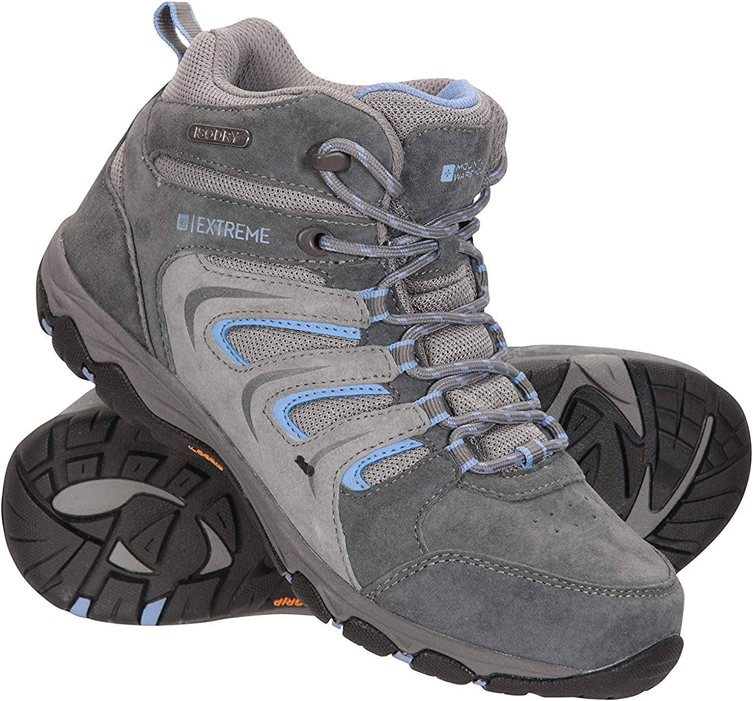 Mountain Warehouse Storm Womens Waterproof IsoGrip Rain Shoes
