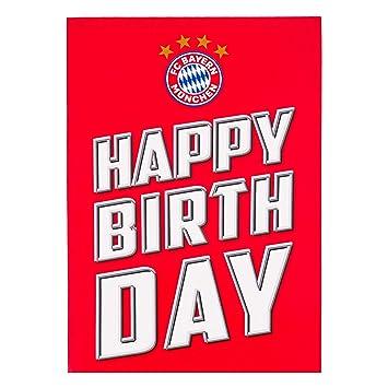Fc Bayern Geburtstagskarte Ausdrucken