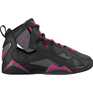 outlet store 38db3 fae28 Amazon.com | Nike Jordan Kids True Flight GG Basketball Shoe | Sneakers