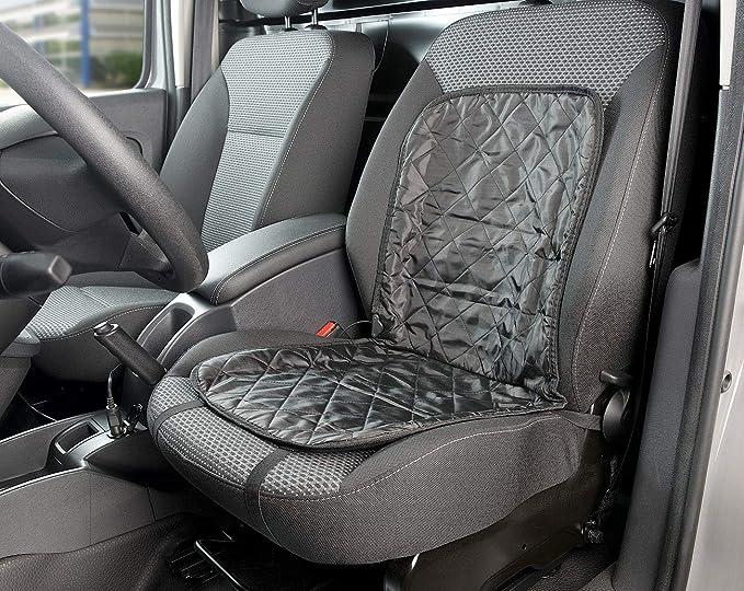 Lescars Beheizbarer Sitzbezug Beheizbare Universal Kfz Sitzauflage Für Den 12 Volt Anschluss Auto Heizkissen Auto