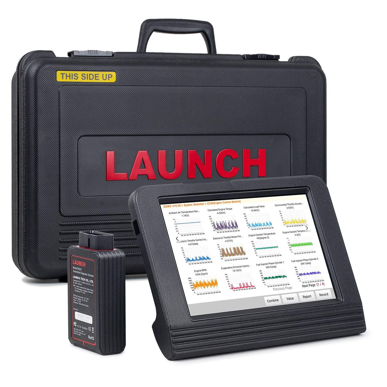 LAUNCH X431 V Pro (Same Function with X431 V+) Bidirectional Scanner Full  System Bidirectional Control Scan Tool OBD Diagnostic with Relearn Reset