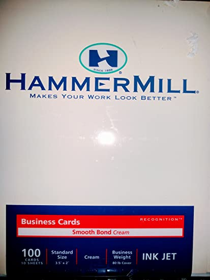 Amazon business cards stock office products business cards stock reheart Gallery