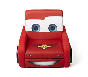 Stupendous Delta Children Deluxe Upholstered Chair Disney Pixar Cars Alphanode Cool Chair Designs And Ideas Alphanodeonline