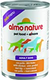 Almo Nature Dog Food Daily Menu with Chicken, Pack of 24 x 400g