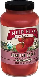 product image for Muir Glen Organic Roasted Garlic Pasta Sauce, Fat Free, 25.5 oz