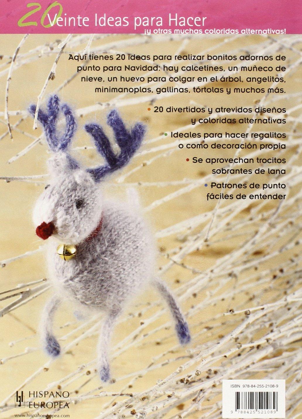ADORNOS NAVIDE?OS DE PUNTO - 20 IDEAS PARA HACER: STRATFORD(521089): 9788425521089: Amazon.com: Books