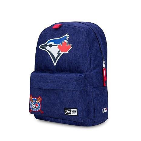 9f484e52deb Toronto Blue Jays MLB Baseball Back Pack Bag Carry On Made By New Era Back  2 School
