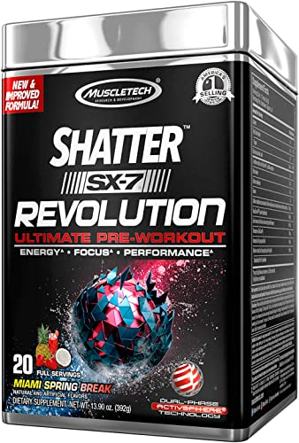 MuscleTech Shatter SX-7 Revolution – Miami Spring Break