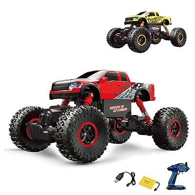 2,4GHz RC ferngesteuerter Off Road Monster Truck véhicule, Crawler, échelle 1: 16avec Propulsion 4WD, Truck, voiture, Car, Kit complet