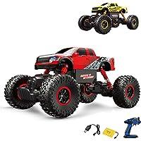2,4GHz Vehículo teledirigido Off-Road Monster Truck, Crawler, escala