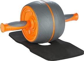 Ultrasport Premium Bauchtrainer AB, Fitnessgerät für Zuhause in Besonders Stabiler Ausführung Zum Trainieren der Bauchmuskeln Sowie Rücken und Schultern