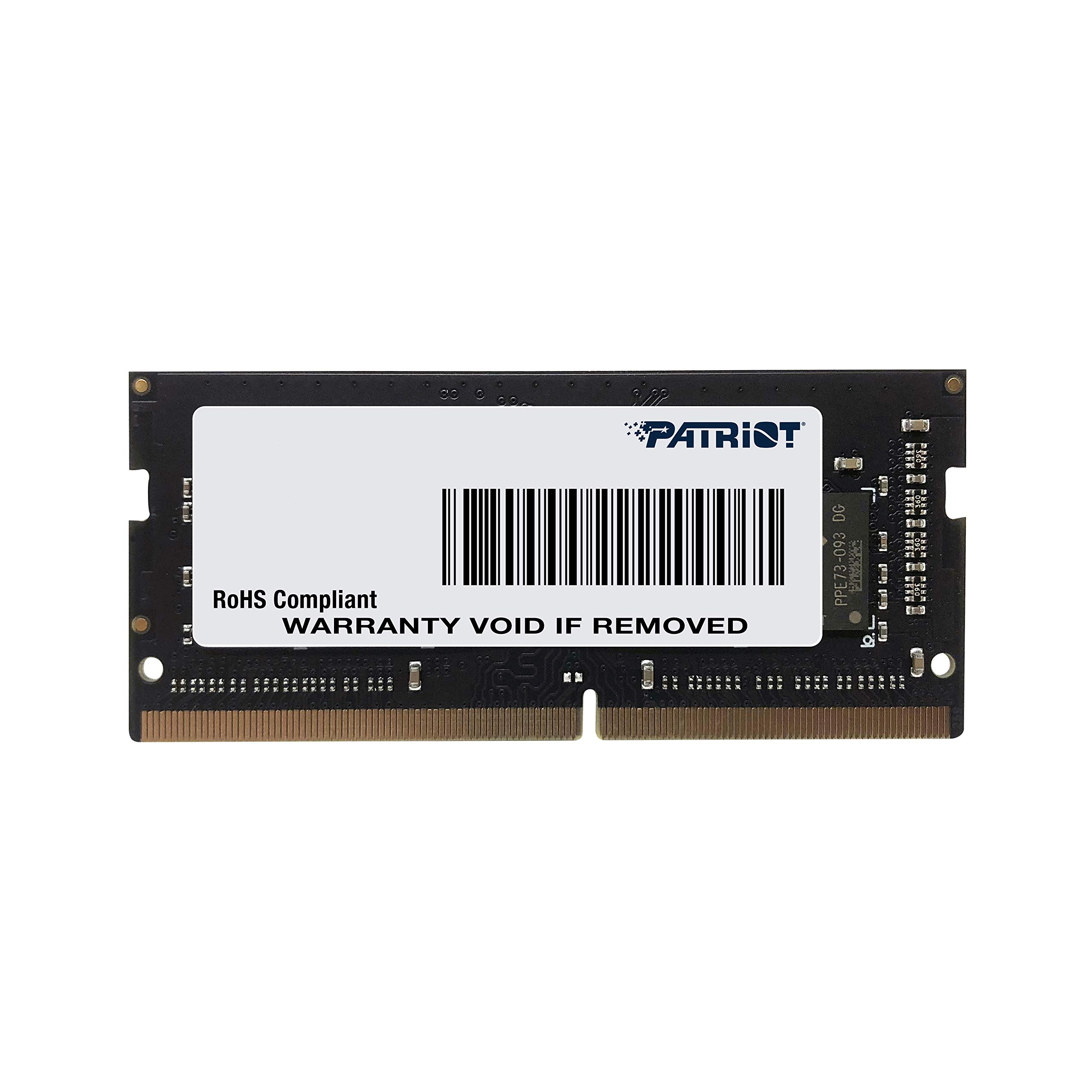 Memoria Ram 16gb Patriot Signature Line Ddr4 (1x16gb) Sodimm Frequency: 2400mhz (pc4-19200) 1.2 Volt - Psd416g24002s