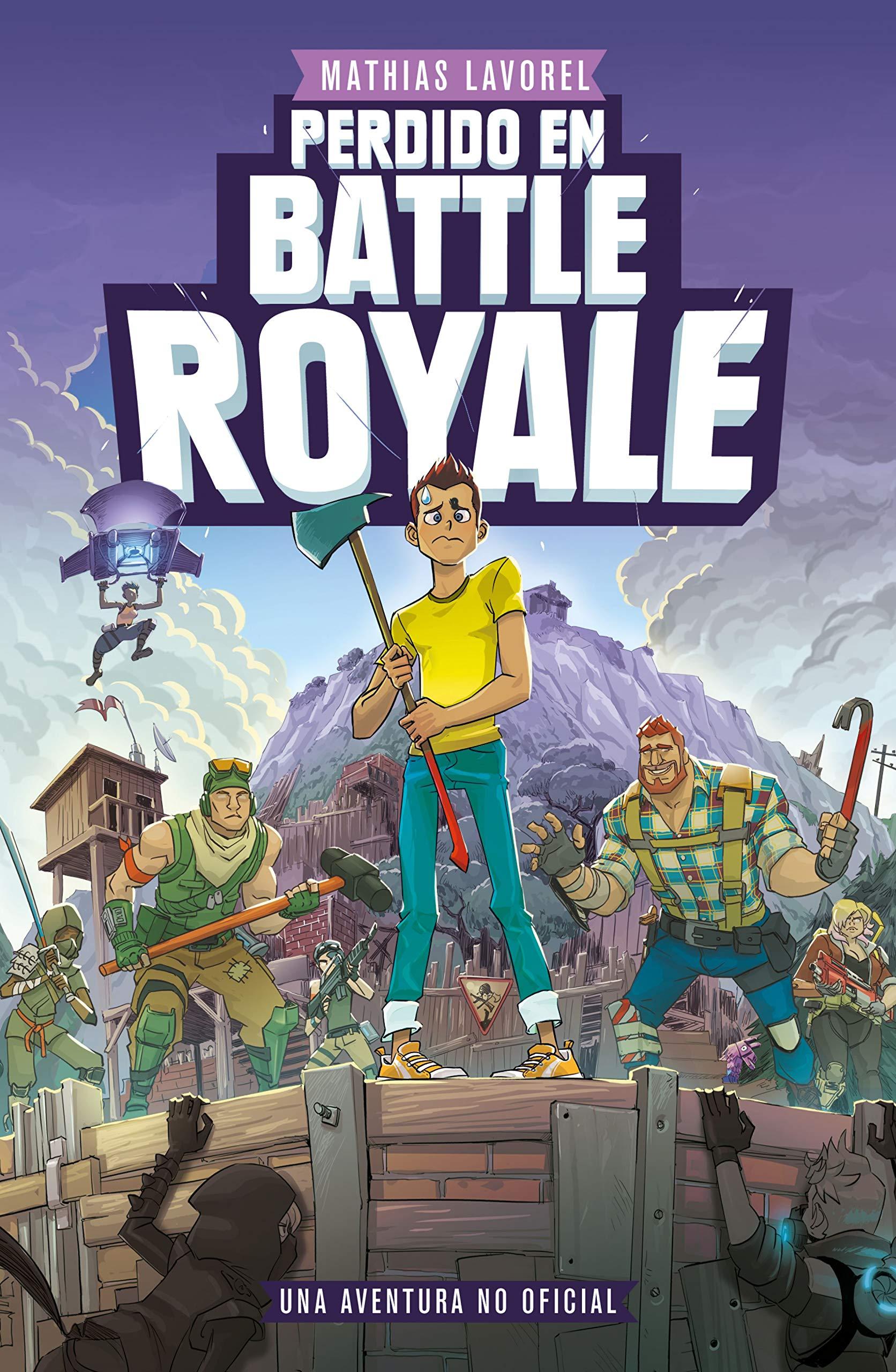Perdido en Battle Royale (Libros basados en juegos)