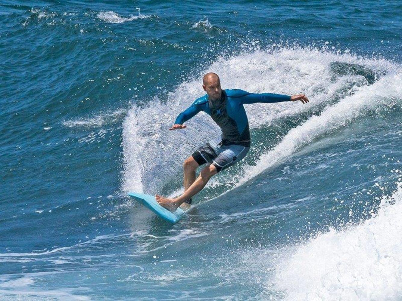 7S carbono Vector De Salero Unisex Tabla de surf/Azul, Amarillo/6 2