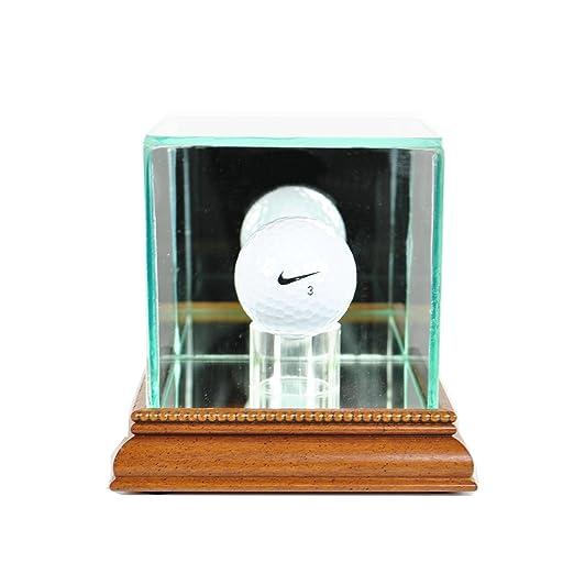 Amazon PGA Golf Ball Glass Display Case Black Sports Outdoors