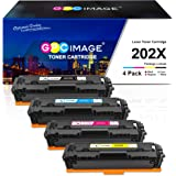 GPC Image Compatible Toner Cartridge Replacement for HP 202X 202A CF500X CF500A to use with Laserjet Pro MFP M281fdw…