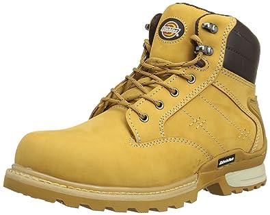 15bf22a9eabee7 Dickies FD9209 HN 7 Canton Chaussures de sécurité SB-P Taille 41 Miel Beige