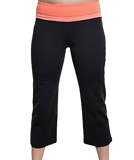 Kirkland Signature Ladies Active Yoga Capri - Negro ...