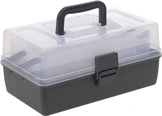 hibuy Caja de Almacenamiento Multiusos para Guardar Manualidades y ...