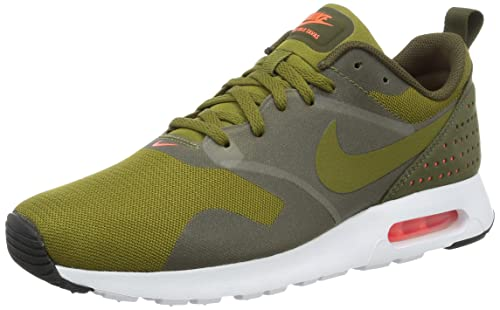 2a7f227762800 Nike Men s Air Max Tavas Olive Flak Olv Flk Drk Ldn Wht Running Shoe 8 Men  US  Buy Online at Low Prices in India - Amazon.in