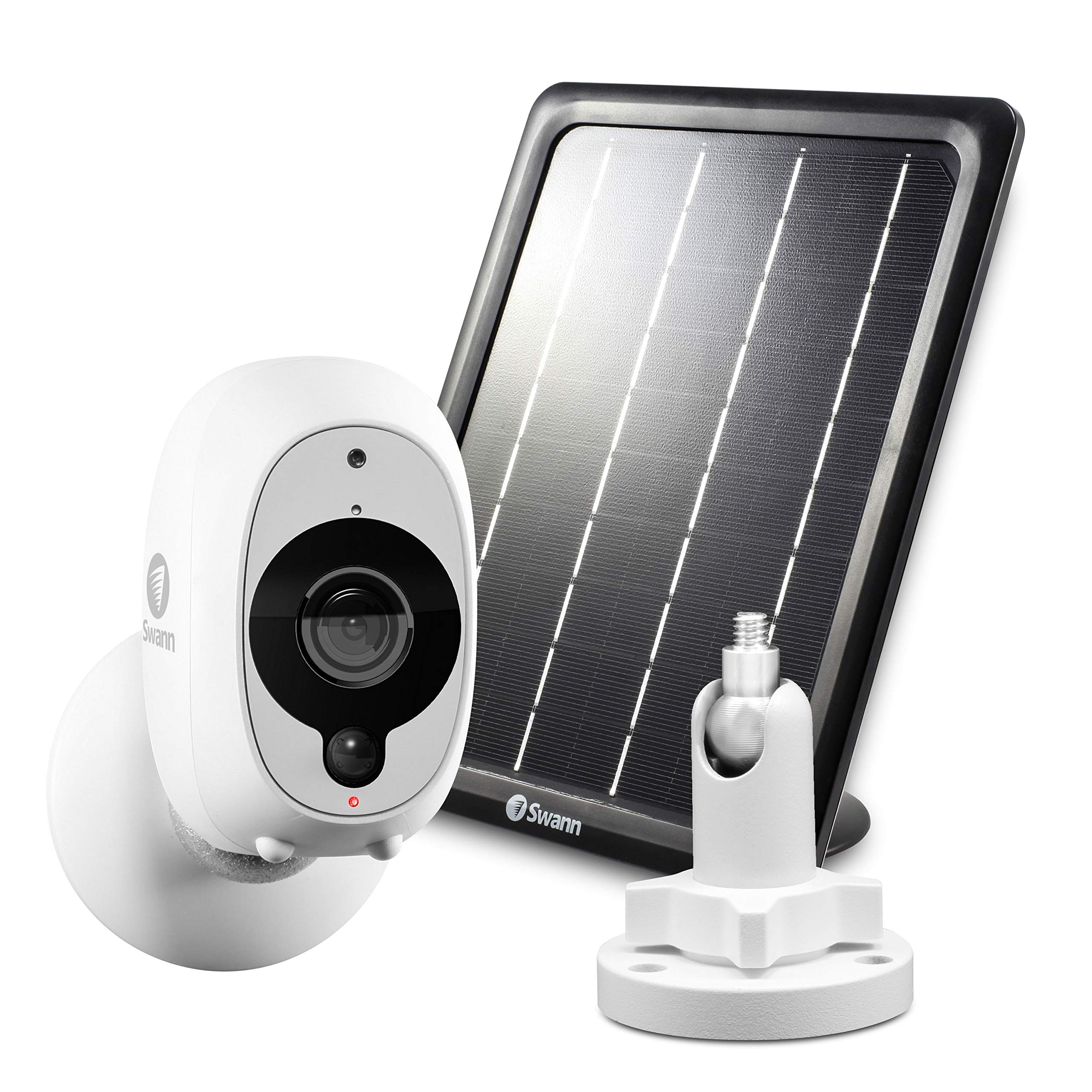 Swann Smart Security Camera Kit: 1080p Full HD Wireless Security Camera with Solar Panel & Outdoor Mounting Stand by Swann