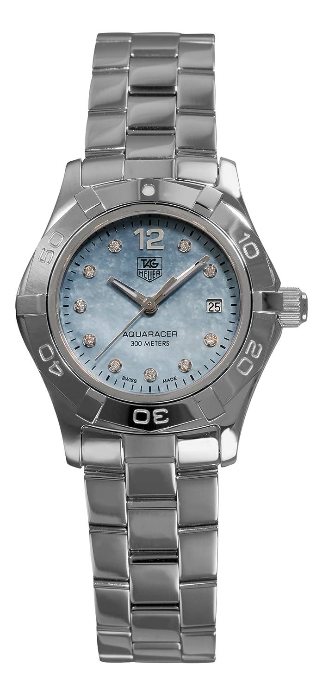 TAG Heuer Women s WAF1419.BA0824 Aquaracer Quartz Blue Mother-of-Pearl Dial Watch