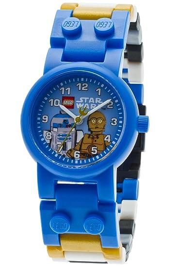 Lego Reloj para Nios de con Correa en Plástico 8020394: Amazon.es: Relojes