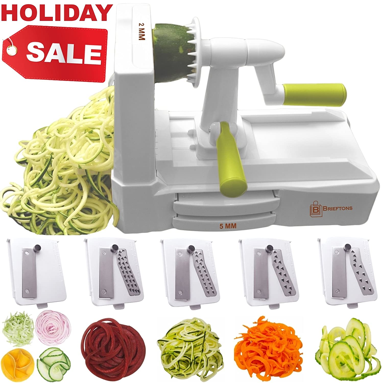 Best Zoodle Maker – You Need to Get Great Blades, Sturdy Frame, or Unique Style? 1