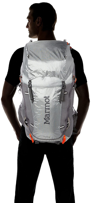 for travel capacidad de 48 L 50 centimeters con telaio interno Marmot Wms Graviton 48 Backpack Hombre Mochila trekking Steel