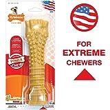 (Peanut Butter Flavored Bone) - Nylabone Dura Chew Souper Peanut Butter Flavoured Bone Dog Chew Toy New